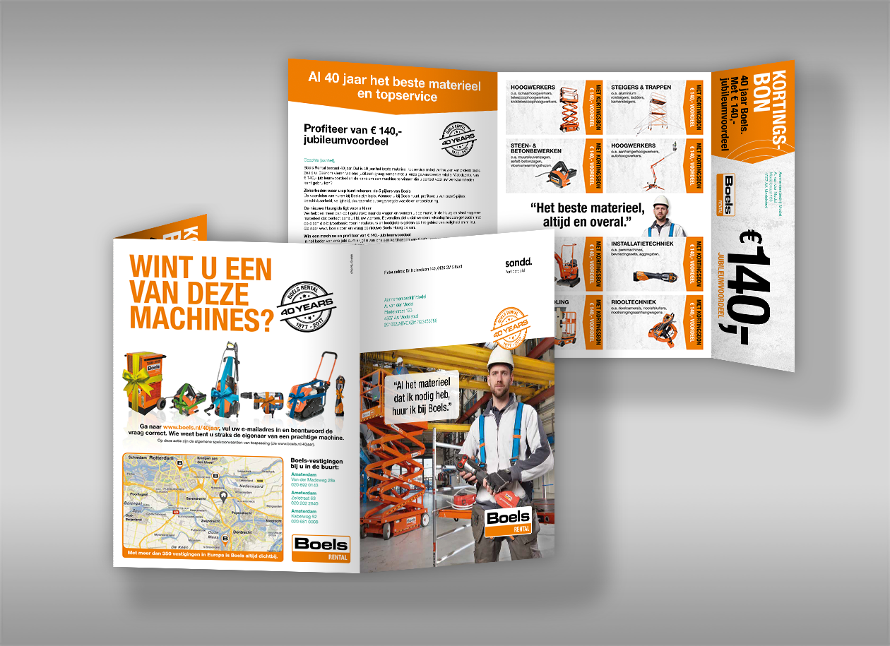 Endless personalization with direct mail